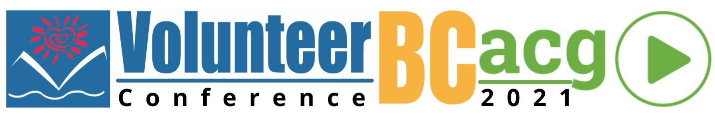 Volunteer BC & BCACG Conference